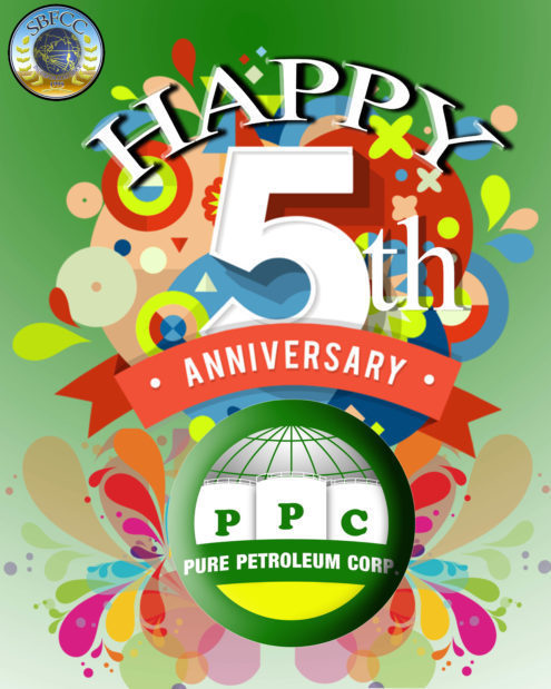 Pure Petroleum Corporation is Celebrating it's 5th Anniversary